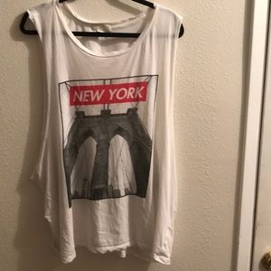Forever21 New York Muscle Tank.